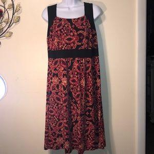 Lane Bryant Sleeveless Dress Sz 14/16W